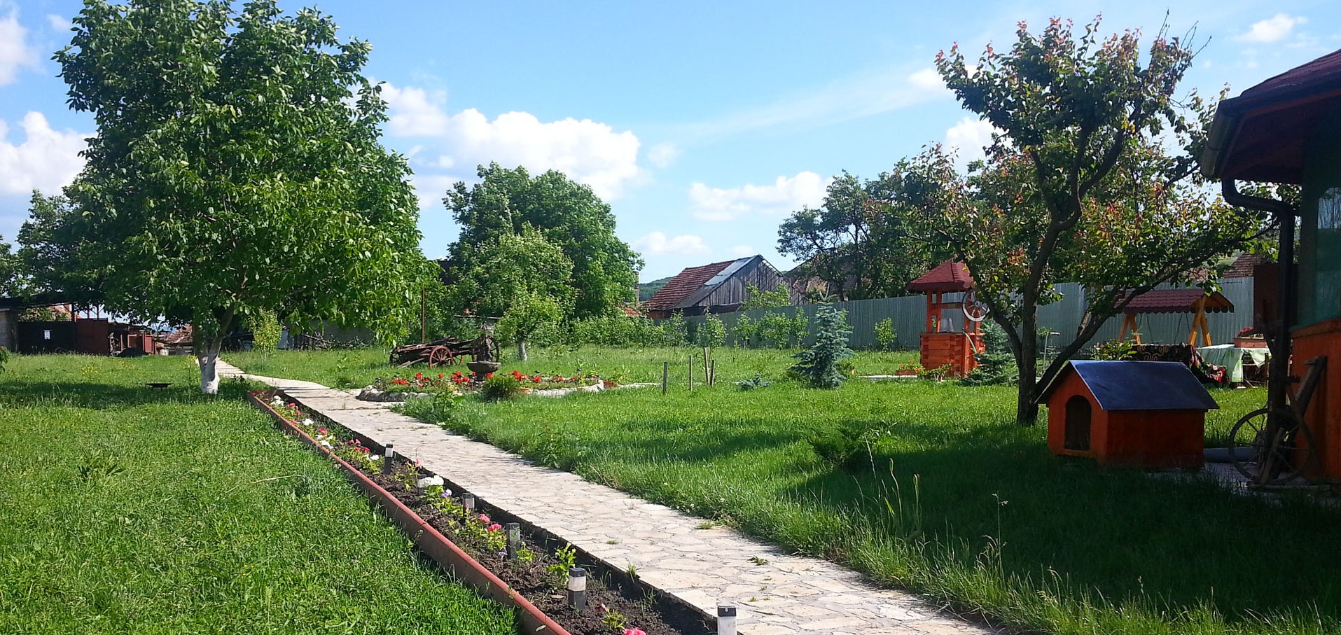 Grădina din Coruș
