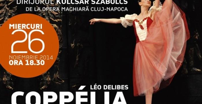Spectacolul Coppelia