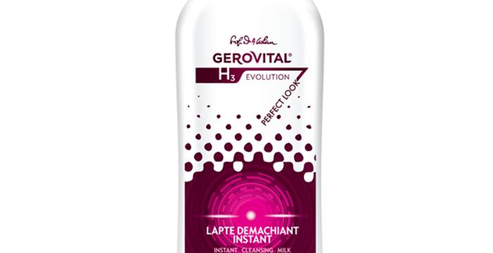 Lapte demachiant Gerovital