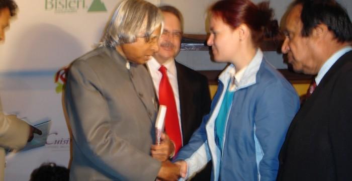 Mihaela Gligor APJ Abdul Kalam