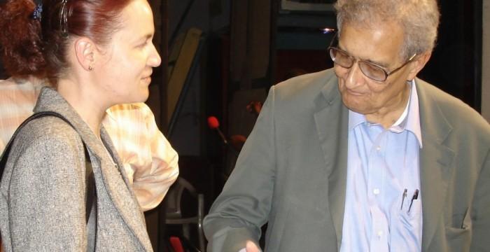Mihaela Gligor Amartya Sen