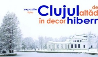 expoziţia Clujul de altadată în decor hibernal