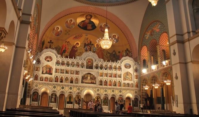 Cea mai mare catedrală ortodoxă din Brazilia.