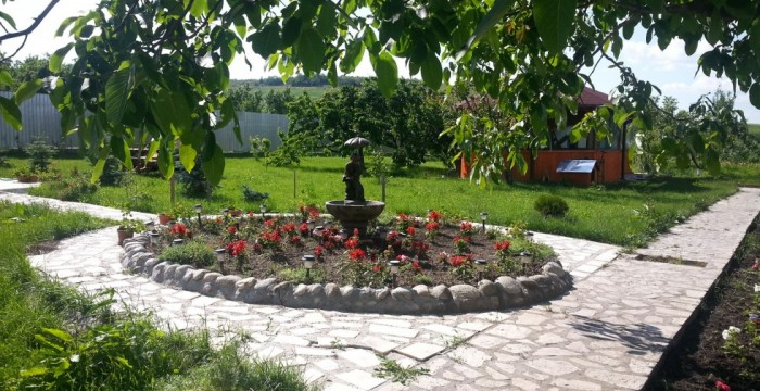 Grădina din Corus